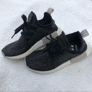 Adidas NMD Black and Grey Glitch